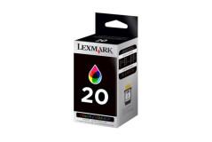 ראש דיו צבעוני מקורי (20) Lexmark 15M0120