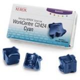 3 יחידות מקורי בצבע ציאן XEROX 108R00660