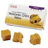 3 יחידות מקורי בצבע צהוב XEROX 108R00662