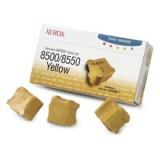 3 יחידות צהוב מקורי XEROX 108R00671
