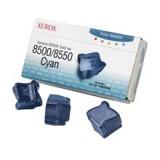 3 יחידות ציאן מקורי XEROX 108R00669