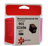 hp 901 - CC656AA צבע ממוחזר מספיק לכ360 דף