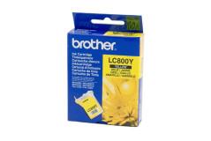 מיכל דיו מקורי צהוב BROTHER LC800Y