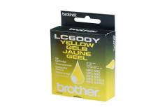 מיכל דיו מקורי צהוב BROTHER LC600Y