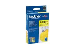 מיכל דיו מקורי צהוב BROTHER LC980Y