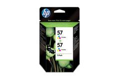 זוג ראשי דיו צבעוני  (57) מקורי HP C9503A