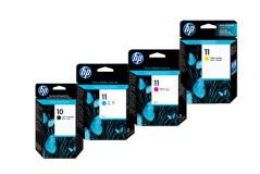 סט ראשי דיו (HP C4844A+C4836-38A(10+11