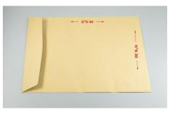 מעטפות כיס חומות סילקון - 30X40 חום