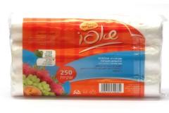 שקיות למזון - שקיות רב תכלתיות ידידותיות לסביבה - שאפו - 3 גליל - 250 שקיות