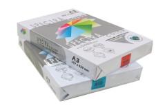 נייר 160 גרם צבעוני - גודל A3,בחבילה 250 דף