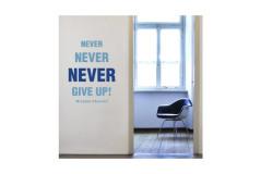 מדבקת קיר - Motivation