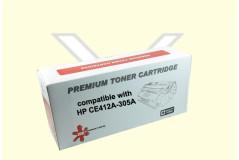 טונר צהוב חליפי (HP 305A(CE412A