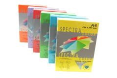 נייר 160 גרם צבעים כהים  - גודל A4,בחבילה 250 דף