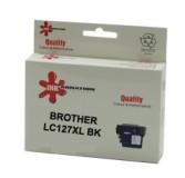 ראש דיו תואם שחור BROTHER LC127XLBK