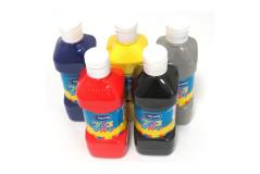 בקבוק צבע גואש 500 גרם - אומגה