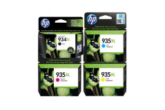 סט 4 ראשי דיו מקוריים HP 934XL+HP935XL