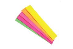 נייר קרפ 5 יחידות - סט מעורב בצבעים זוהרים