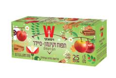 תה צמחים  ויסוצקי תפוח וקינמון - סיידר
