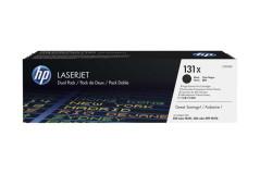 זוג טונרים שחור מקורי CF210XD לכ-2400 דף (HP 131X)