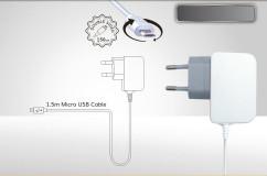 מטען קיר לבן מיקרו MAWC210 2.1A  USB