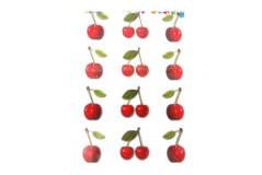 מדבקות פירות - דובדבנים