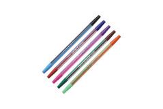 עט חד פעמי ראש כפול - דו צדדי - TODAY`S 2 Color Fashion