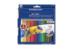סט 24 עפרונות שטדלר - אקוורל