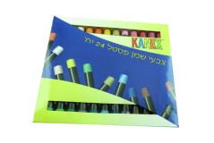 צבעי פסטל שמן עבים אומגה (פנדה)-24 צבעים