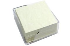 מתקן לממו עם קוביית נייר ממוחזר/קלף