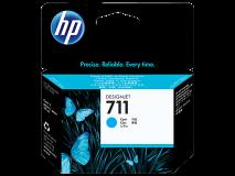 ראש דיו ציאן מקורי (HP 711 29-ml(CZ130A