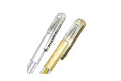 עט ג`ל PENTEL K118 0.8 בגוונים מתכתיים
