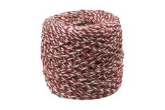 חוט קשירה דקורטיבי לקשירת מתנות , אדום/לבן