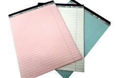 בלוק לכתיבה מנייר 100% ממוחזר - (ארוז 3 יח - מחיר ליח)