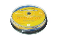 DVD +R 8.5GB שכבה כפולה - 10 יח