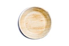 צלחת עגולה חד פעמית בקוטר 25 ס``מ - מעצי דקל