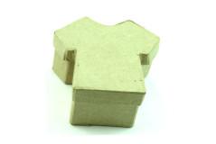 קופסת נייר עבודת יד , גודל 6-11 ס``מ - חולצה