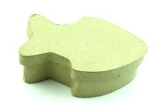 קופסת נייר עבודת יד , גודל 6-11 ס``מ - דג