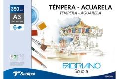 קרטון לציור FABRIANO SCOLA  גודל A3 30x42