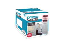מדבקת DYMO פלסטיק עמידה : 25X25 מ``מ DURABLE 1933083