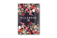 מחברת ספירלה PP -בילבונג בנות,פרחים