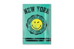 מחברת ספירלה PP -סמיילי NEW YORK