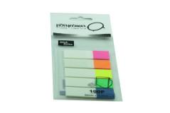דגלוני סימון ישרים סט 5 צבעים PET44125-5