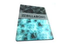 מחברת ספירלה PP -בילבונג בנים כחול,שחור