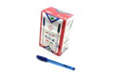 עט חד פעמי כדורי 1.0 TRI X COLOR -TODAY`S(ארוז 50 יח` מחיר ליחידה)