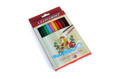 סט 12 עפרונות צבעוניים ג`מבו לאונרדו