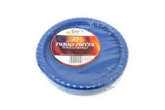 צלחת פלסטיק חד פעמית - 7`` שמאי