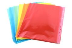 ניילון פס לבן - שמרדף-40 מיקרון  25 יח` גודל -5 צבעים -A4