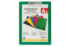 לוח לחצן יחיד עשוי פלסטיק A4 קשיח -875200