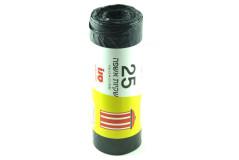 25 שקיות אשפה - אשפתון שחור סנו -  85 * LD 76