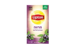 תה צמחים ליפטון-חליטת מרווה